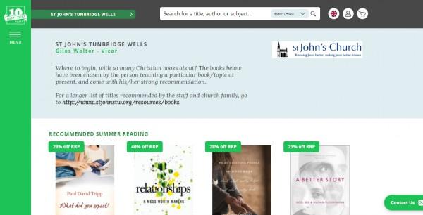 Books - St John's Church